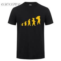 Dragon Ball Z Son Goku T Shirts Goku Evolution of Man T Shirt Men Black,... - $14.80+
