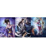 3 Asian Marid Goddess~Djinns~Wealth Wishes Peace Amulet White Magic Spir... - $75.00