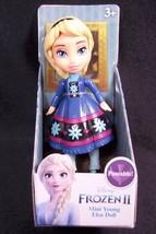 """Disney Frozen II Mini ELSA in snowflake dress 3"""" poseable figure NEW - $8.75"""