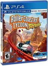 Rollercoaster Tycoon: Joyride - PlayStation 4 Standard Edition [video game] - $30.67