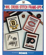 Nomis Officially Licensed Team Logos of The NHL Cross Stitch Patterns - $24.99