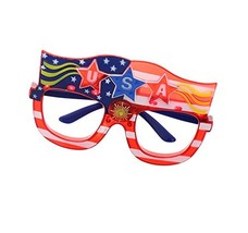 Patriot Pride Spirited Spectacles Flashing Frames - 4th of July Independ... - €10,40 EUR