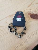 1138 Gold & Black Links Bracelet (New) - $7.61
