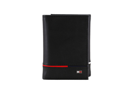 Tommy Hilfiger Men's Leather RFID Extra Capacity Trifold Wallet 31TL110044 image 4