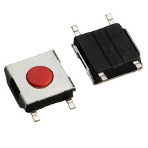 100pcs Tactile Push Button Switch Tact Switch Micro Switch 4-Pin SMD Wat... - $3.45