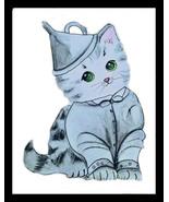 Oz Tin Man Kitten Artwork - $25.00