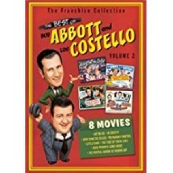 The Best of Abbott & Costello - Volume 2 Dvd