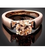 Champagne Crystal Ring GP Size 7 - $27.99