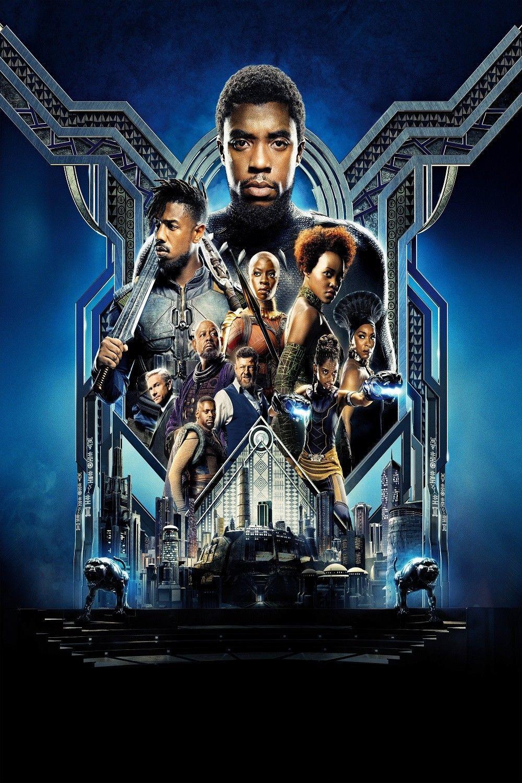 Black Panther Movie Silk Canvas Poster 13x20 32x48/'/'