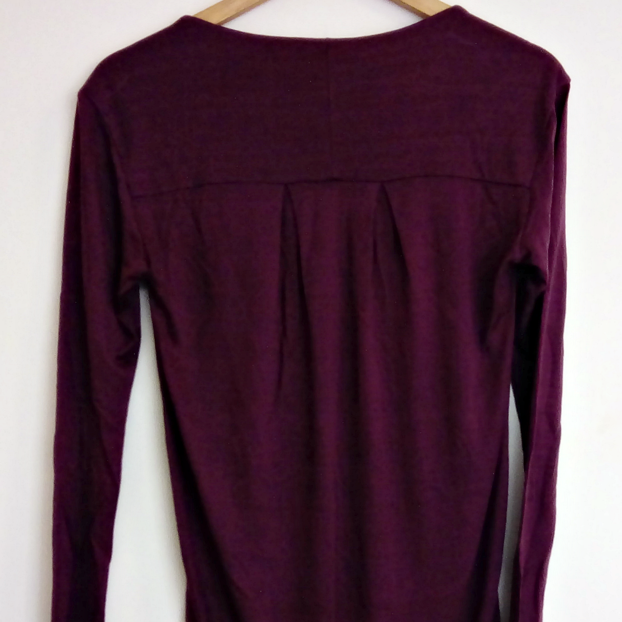 DKNY Dress Tunic Purple Long Tshirt Tee Shirt Mini Size Small