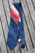 Pierre Cardin Vintage Blue Red Striped Tie - $14.95