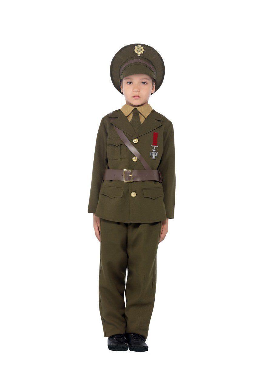 Smiffy's Armée Officier Militaire Commander Enfant Unisexe Déguisement Halloween