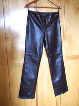 Banana Republic Brown Leather Pants Size 6 - $29.95