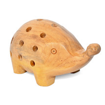 Real Wood Pig Shape Pen Pencil Holder Stand for Home & Office Table Acce... - £23.19 GBP