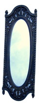 Framed Mirror 1973 Homco Long Oval, Ornate Antique Style Made in USA - $24.99
