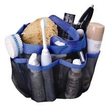 Shower Caddy Organizer Mesh Blue Bath Tools Holder Shampoo Conditioner S... - $10.55