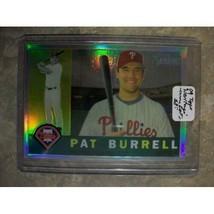 Pat Burrell , 2009 Topps Heritage #C92 - Chrome Refractor /560 MLB baseb... - $3.33