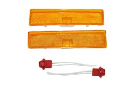 2 Side Markers Corner Lamp Parking Light F150 F250 F350 Truck Pair F-150 80-86