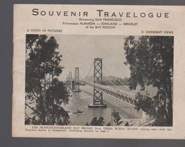 Souvenir Travelogue 1945 San Francisco California Berkeley Alameda Oakland - $10.75