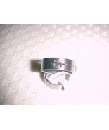 simple decents mens stainless steel ring size 12 - free shipping - $12.99