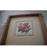 Framed Floral Wall Hanging Pair - $50.00
