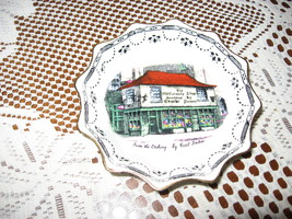 VTG Old Curiosity Shop-Trinket Dish-Rosina Bone China- Souvenir-London - $6.00