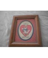 """""""Love Is Patient and Kind"""" Framed Wall Hanging - $6.00"""
