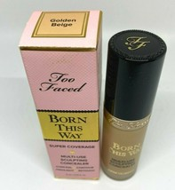 Too Faced Born This Way Super Coverage Multi-Use Concealer Golden Beige - $21.34