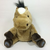 "Aurora World Horse Pony Hand Puppet 16"" Brown Plush - $19.99"