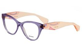 MIU MIU VMU 03N TIF-1O1 Eyeglasses 53mm - 10 - $75.71