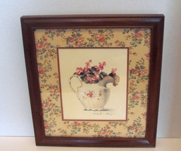 Decades Old Sandy Lyman Glough Signed, Framed Print - $19.99