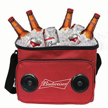 Budweiser Bluetooth Speaker Cooler Bag Red - $34.98