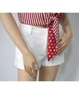 Express Short Shorts / White / Size 3-4 / Summer Shorts - $18.00