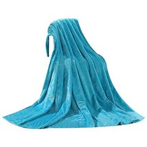 Blue Baby Summer Air Conditioning Coral Carpet Infant Towel Blanket image 2