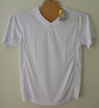 Easton M5 Home Plate Adult Jersey White Sz M - $18.70