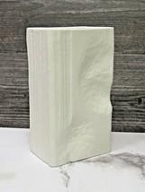 Rosenthal Studio Line Martin Freyer White Matte Bisque Mid Century Vase  - $53.46