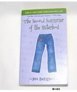 The Second Summer of the Sisterhood  by Ann Brashares - $5.99