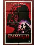 REVENGE OF THE JEDI (1982) Orig Recalled Undated International Teaser 1-... - $2,500.00