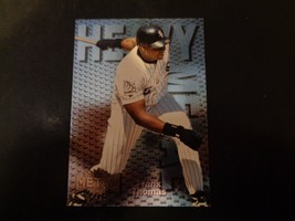 Frank Thomas 1996 Heavy Metal Fleer Insert #8 Baseball Card NM/M White Sox - $1.34