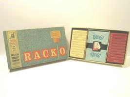 VINTAGE Racko Card Game 1961 Milton Bradley 4615 USA Made FREE SHIPPING ... - $19.77