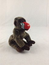 1999 Ty Beanie Baby Cheeks The Baboon Monkey Stuffed Plush Animal Toy - $5.89
