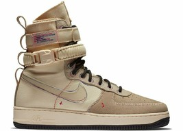 "Nike Sf Special Field Air Force 1 High ""Muslin"" Size 10.5 New W/BOX (AT4647-100) - $107.55"