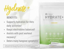 It works Hydrate Electrolyte - charged drink powder 30 Packets - Free Sh... - $42.99