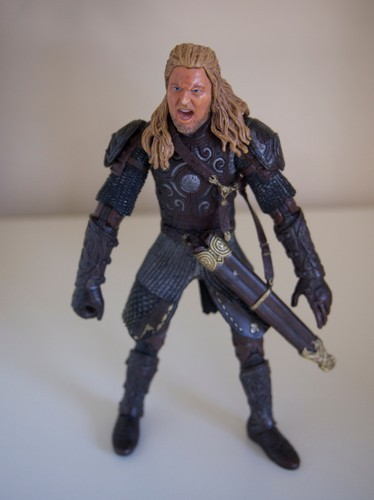 "Lord of The Rings LOTR Eomer 2002 Marvel Action Figure 5.5"" Sword Shaft image 3"