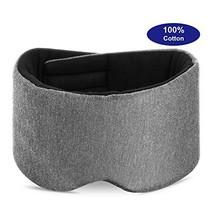 Cotton Eye Mask for Sleeping -Light Blocking Sleep Mask,Soft&Comfortable... - $15.23