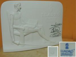 Lladro Collectors Society Don Quixote Plaque 1985 Signed Figurine marked 3 - $31.49