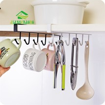 Iron Kitchen Storage Rack Cupboard Hanging Hook... - $14.90