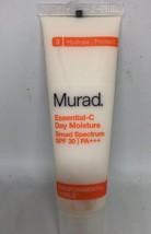 NEW Murad Essential C Day Moisture Broad Spectrum SFP 30 - .7 Fl Oz/ 21 ml - $11.88