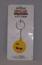 Almar Emoji Expressions Key Chain Ring  - New - Winking Emoji - $4.74