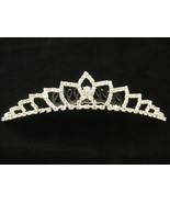 Austrian Crystal Tiara With Comb New - $28.00